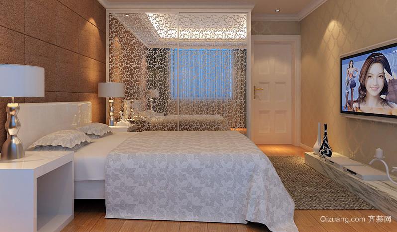 2016别墅精致型卧室装修效果图
