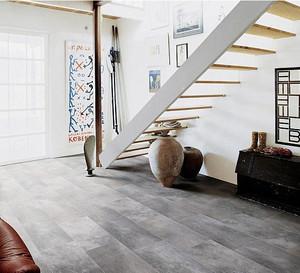 后现代跃层家居客厅仿古砖地板贴图
