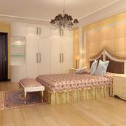 大户型时尚风格卧室装修效果图