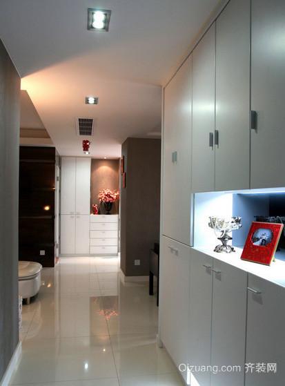 138平米现代简约风格复式楼玄关装修效果图