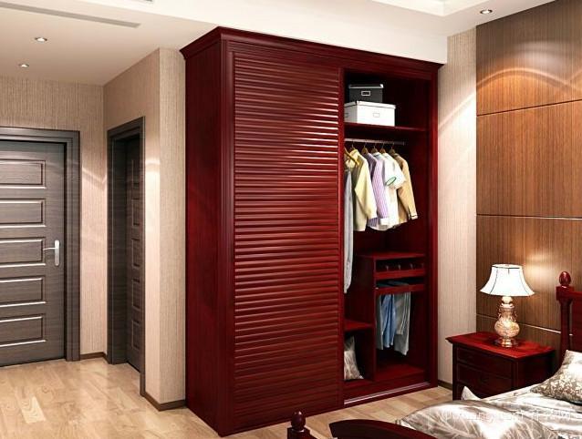128平米宜家风格整体衣柜设计效果图