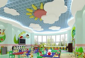 高级大型幼儿园教室壁画设计效果图