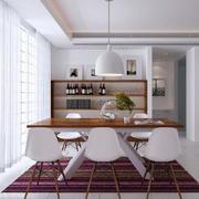 清新风格餐厅设计图片