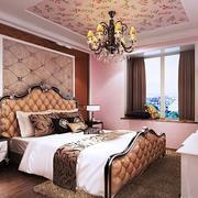 欧式复古房子20平米卧室装修效果图