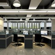 现代简约风格办公楼吊顶装饰