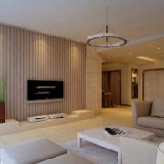 90平米大户型欧式唯美室内客厅装修效果图鉴赏