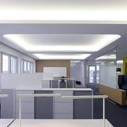 办公楼现代化办公桌椅装饰