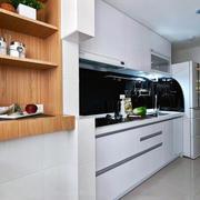 现代简约小户型2016新款家庭厨房装修效果图