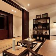 中式风格别墅简约家装书房装修效果图