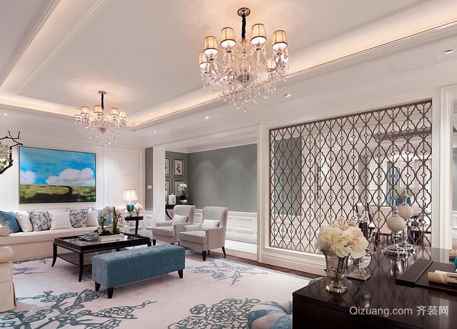 80平米现代房子客厅装修效果图