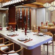 中式别墅餐厅灯饰装饰