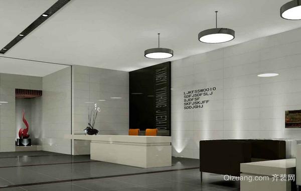 180平米极具现代化办公楼办公室装修图