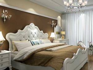 两室一厅欧式风格交换空间卧室装修图