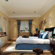 地中海风格暖色系卧室装饰