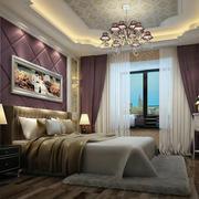 欧式奢华卧室吊顶装饰