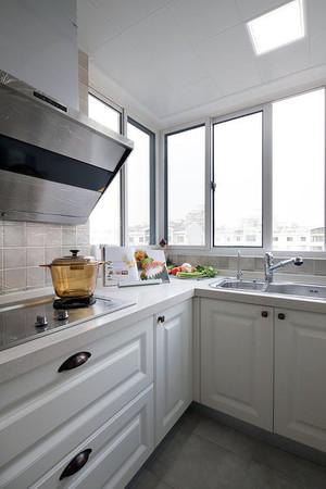 复式楼欧式风格家庭厨房装修效果图