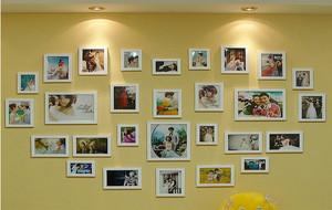 110平米梦幻系列照片墙设计效果图