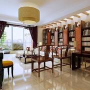 新中式简约风格客厅背景墙装饰