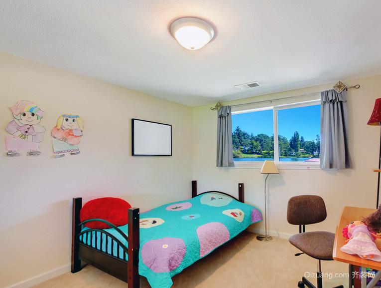 2016卧室型精致的欧式儿童别墅装修效果图-齐海边别墅威海v卧室图片