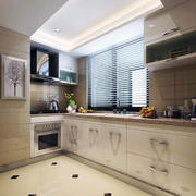 精致的厨房吊顶造型图