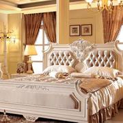 120平米复式楼欧式风格床饰家具装修效果图