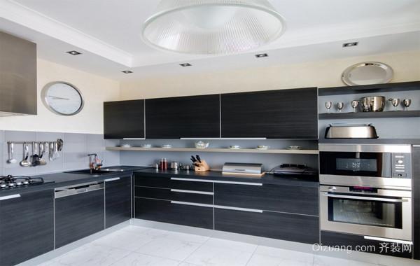 雅俗共赏经典大户型欧式厨房装修设计效果图