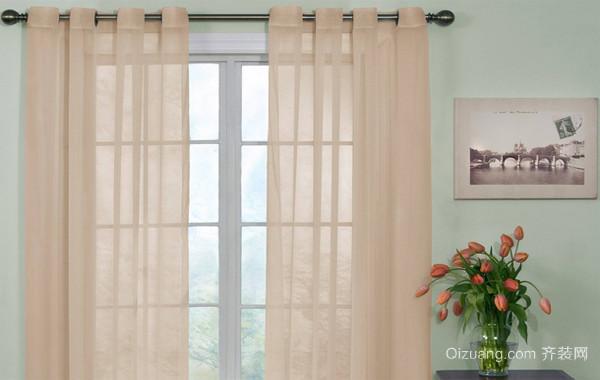 100平米隔音飘窗窗帘效果图