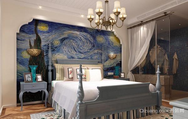 30平米地中海风格交换空间卧室装修效果图