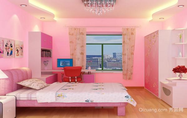 2016别墅型精致的欧式儿童卧室装修效果图