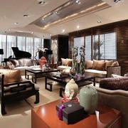 新中式客厅沙发装饰