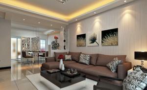 都市105平米房子客厅装修效果图