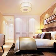 现代简约风格白色系卧室衣柜装饰