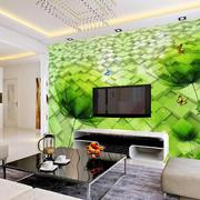 现代时尚131平米家居客厅绿色背景图片