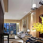 180平米大型中式风格家装别墅餐厅装修效果图