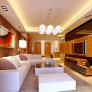 2016大户型精致的欧式客厅装修效果图欣赏