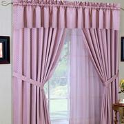 粉色调窗帘装修大全