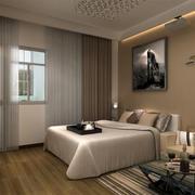 卧室窗帘设计图片
