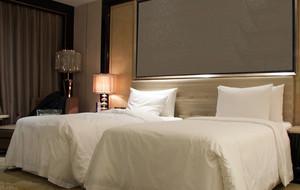 酒店简约风格床头背景墙装饰