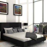 2016男士小公寓房子卧室装修效果图