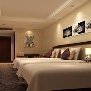 商务酒店客房吊顶装饰