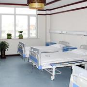 老年公寓多人间现代简约风格卧室装修效果图