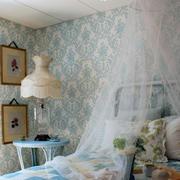 欧式卧室壁纸装饰