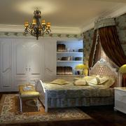 欧式风格卧室衣柜装饰