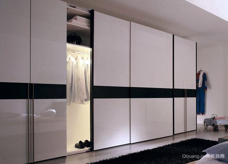 20平米卧室整体衣柜设计效果图