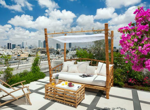 180平米大户型楼顶美式露台花园装修图
