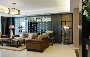 新中式客厅灯饰装饰