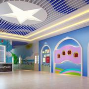 精致双语高级幼儿园壁画设计装修效果图
