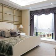 时尚风格窗帘设计图片