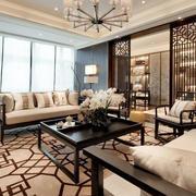 新中式客厅吊顶装饰