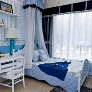 地中海风格卧室桌椅装饰